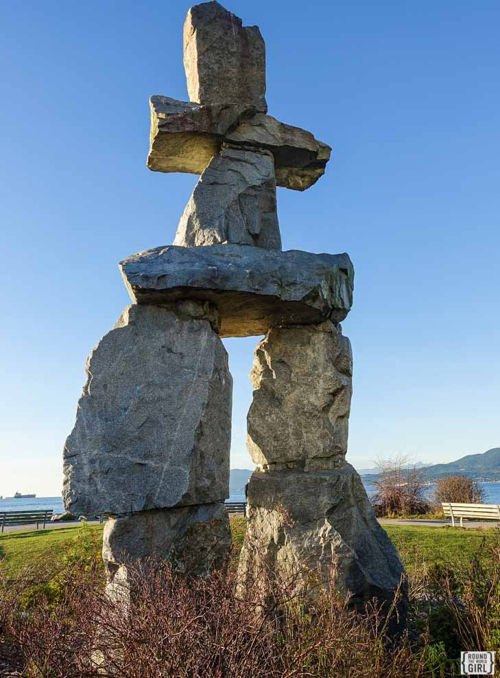 Inuksuk English Bay | www.rtwgirl.com