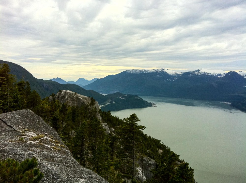 Stawamus Chief In Squamish BC