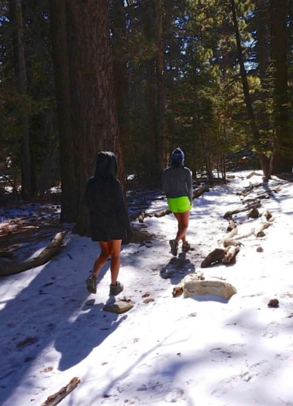 Travel Fitness - hiking Mount San Jacinto