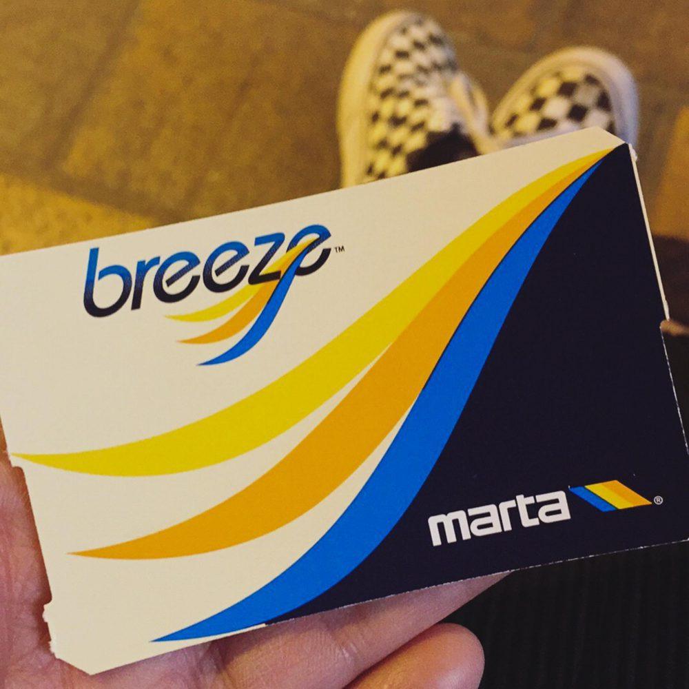 Riding MARTA | rtwgirl