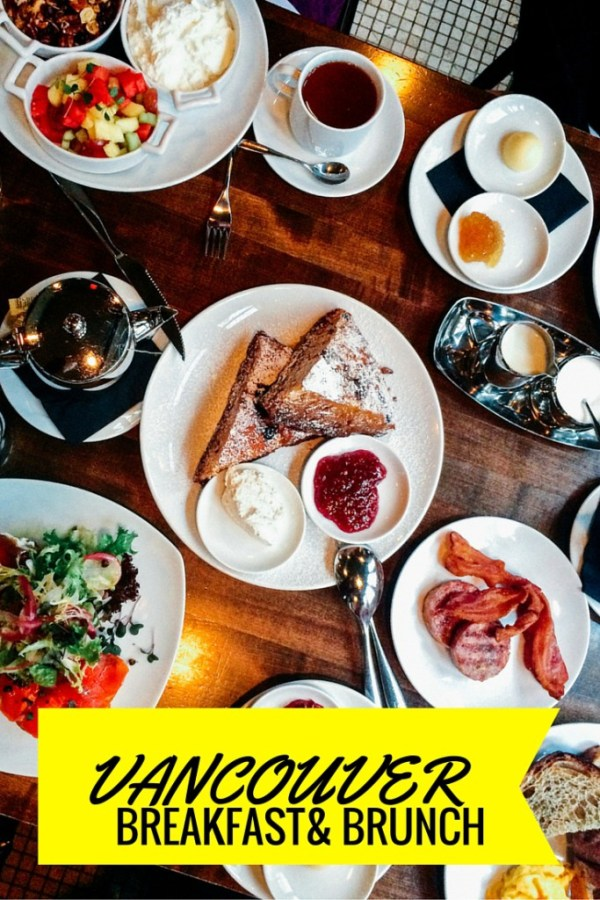 Vancouver breakfast and brunch | www.rtwgirl.com