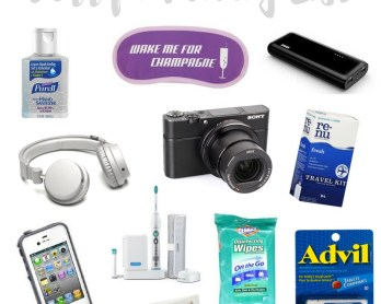 Carryon Packing List   www.rtwgirl.com