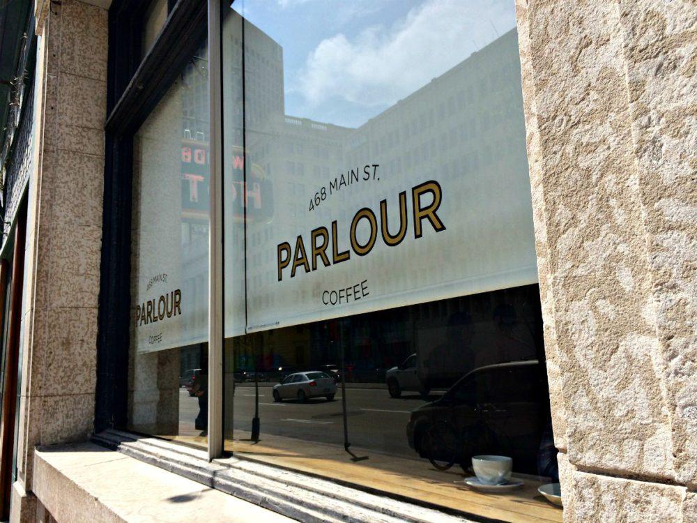 Parlour Coffee Winnipeg | www.rtwgirl.com