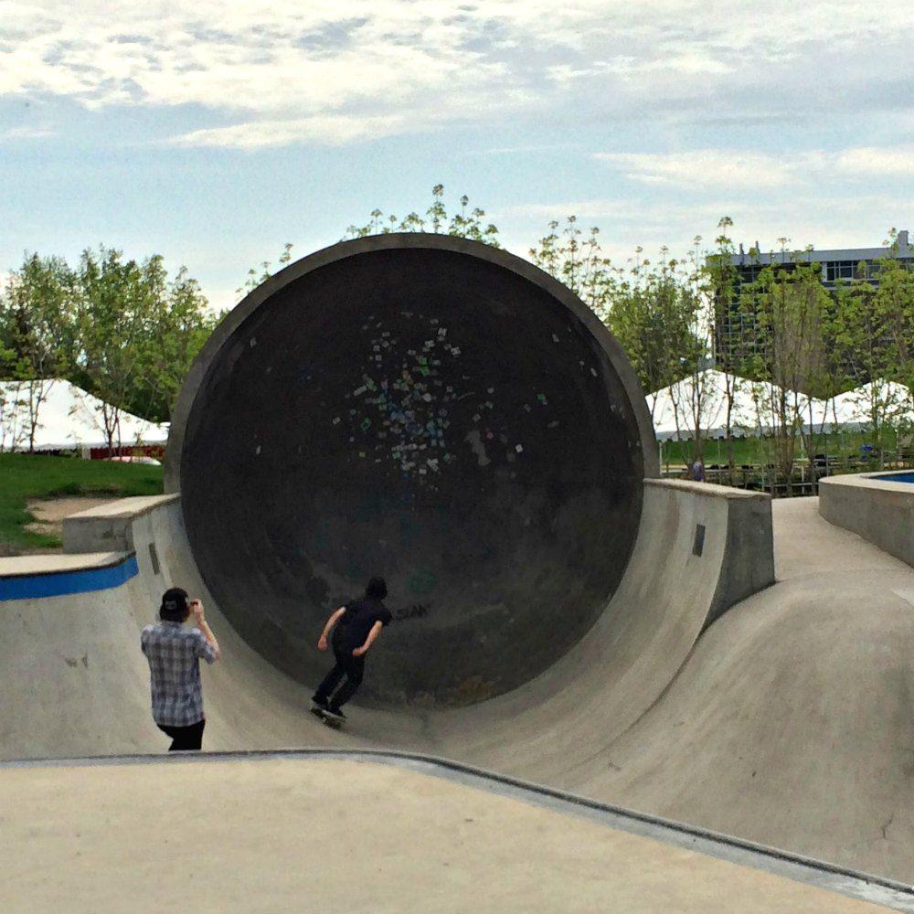 The Forks Skatepark | www.rtwgirl.com