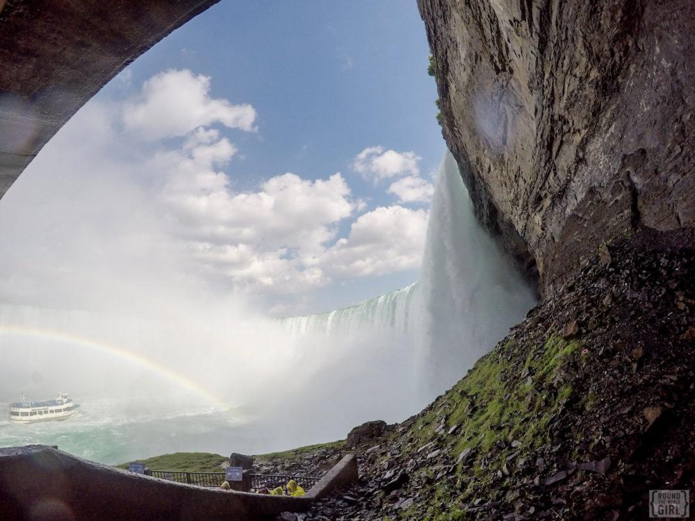 Niagara Falls - Journey Behind The Falls   www.rtwgirl.com