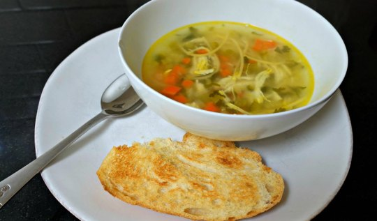 Chicken Noodle Soup Recipe | www.rtwgirl.com
