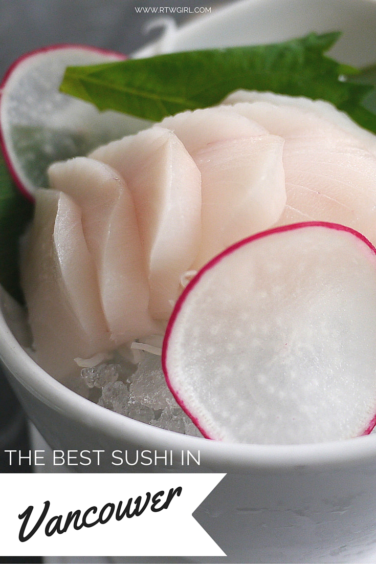 Where To Find The Best Sushi In Vancouver, Canada | www.rtwgirl.com