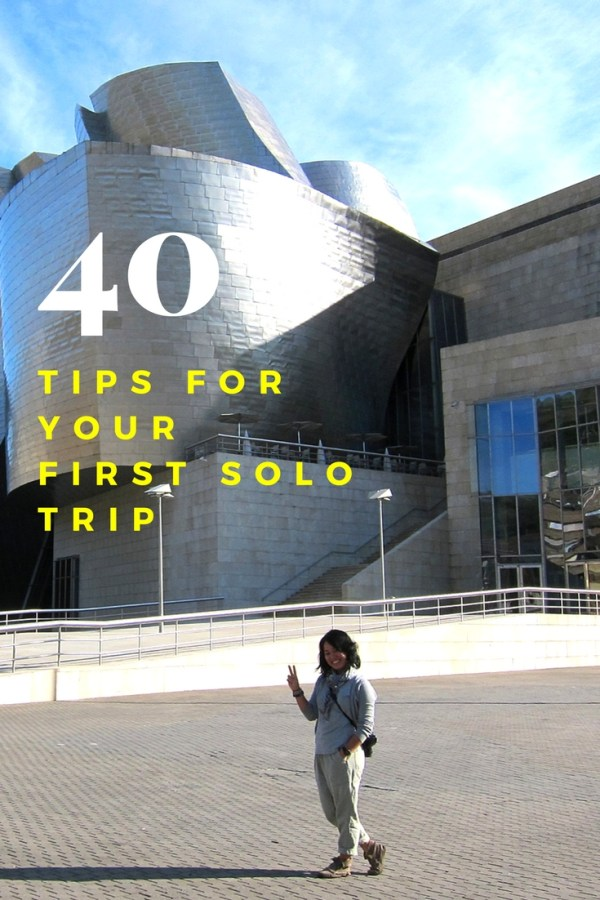 Solo Traveler Tips