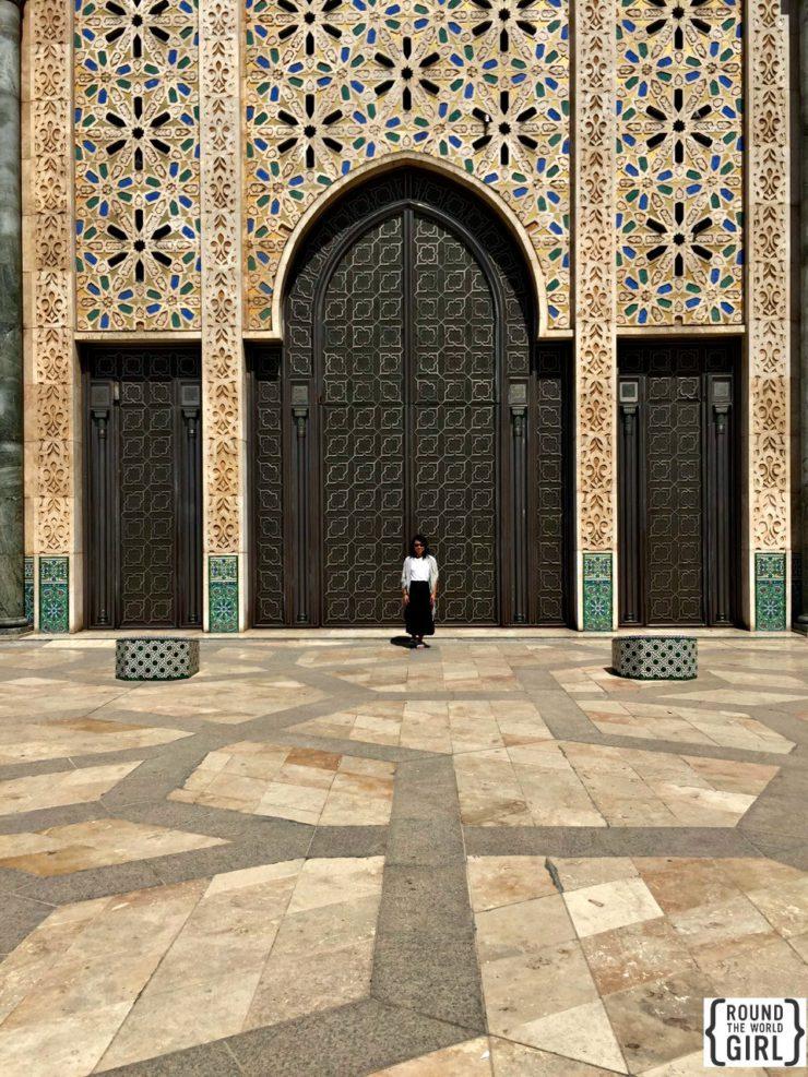 Hassan II Mosque Casablanca   www.rtwgirl.com