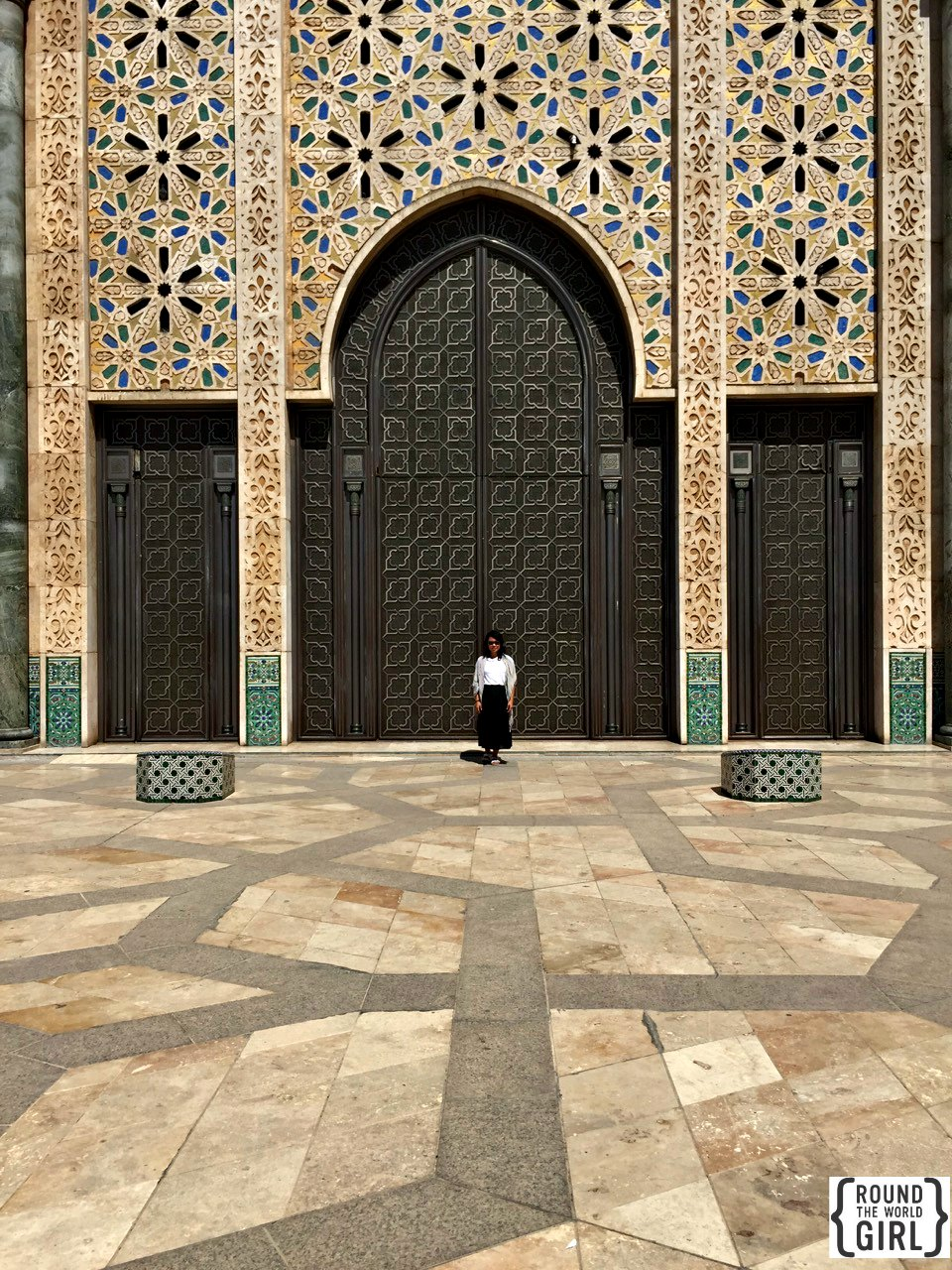 Hassan 2 Mosque Casablanca | www.rtwgirl.com