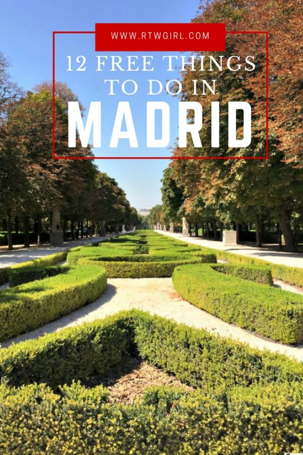 12 Things To Do In Madrid, Spain That Are Free | rtwgirl