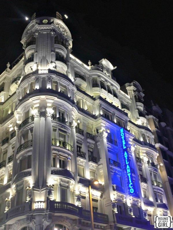 Gran Via Hotel Atlantico | rtwgirl