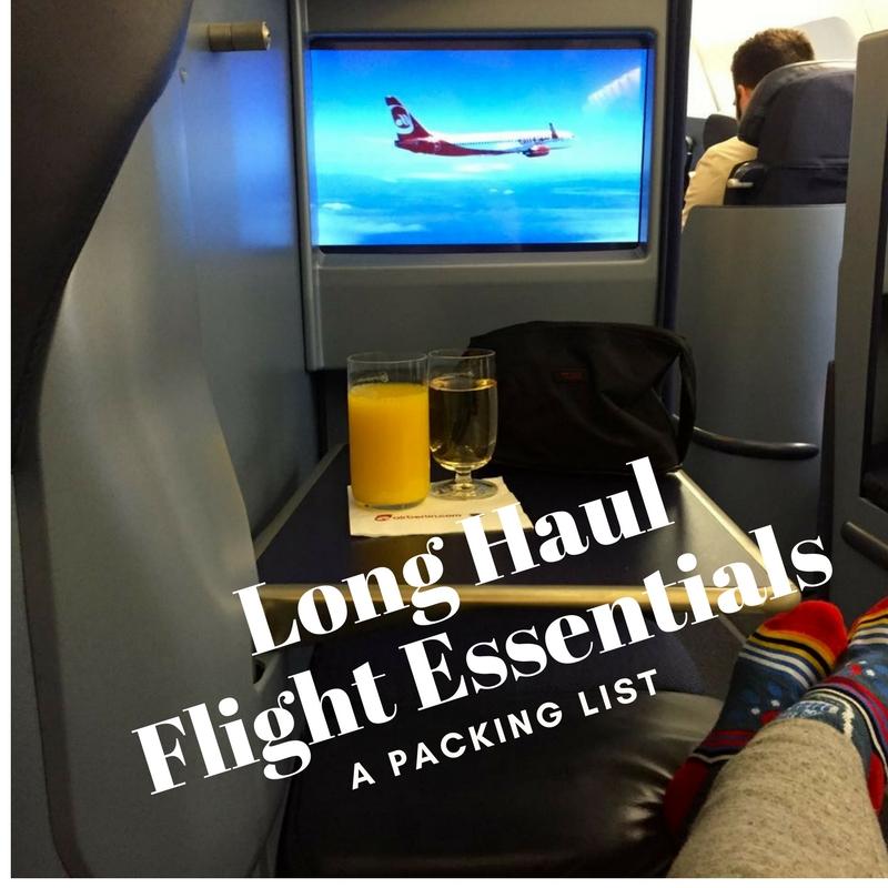 Long Haul Flight Essentials   www.rtwgirl.com
