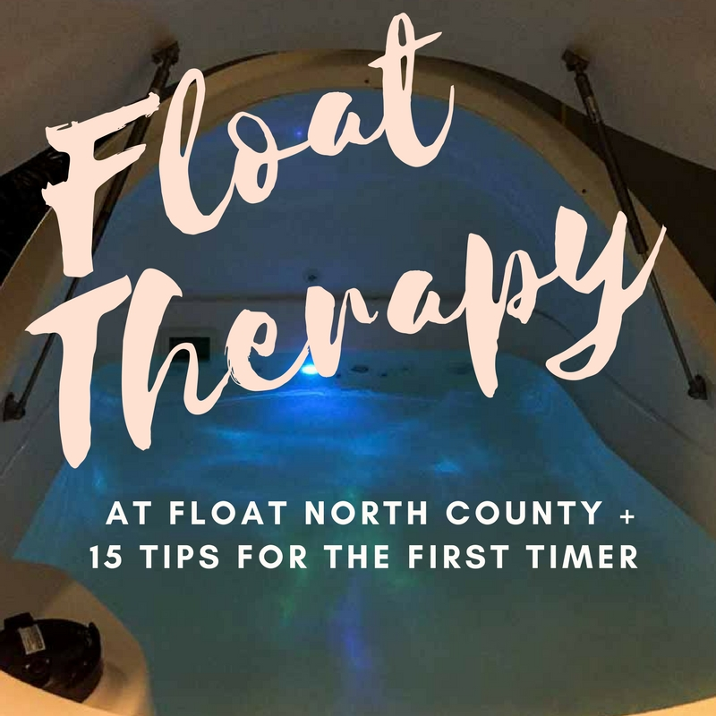 Float Therapy at Float North County + 15 Tips   www.rtwgirl.com