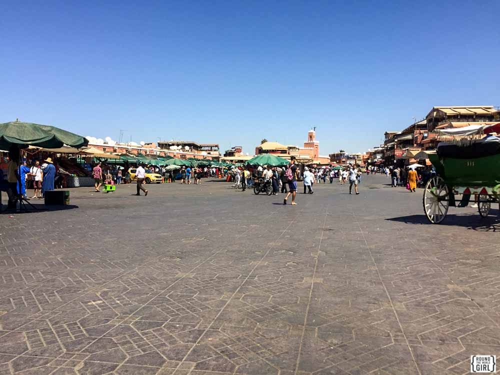 Daytime in Place Jemaa El Fna