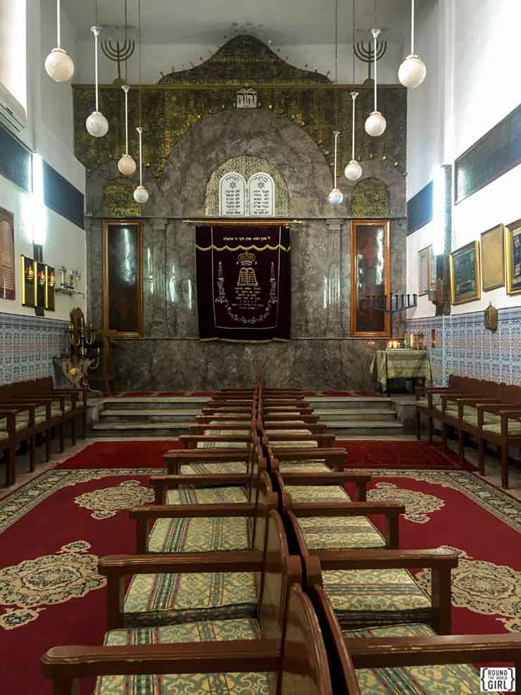 Synagogue Lazama in Marrakech | www.rtwgirl.com