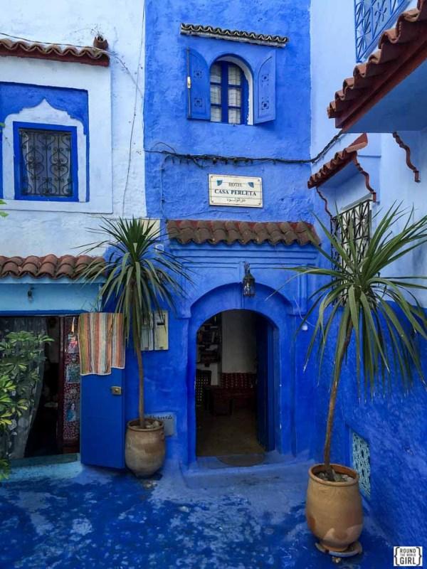 Casa Perleta in Chefchaouen Morocco | www.rtwgirl.com