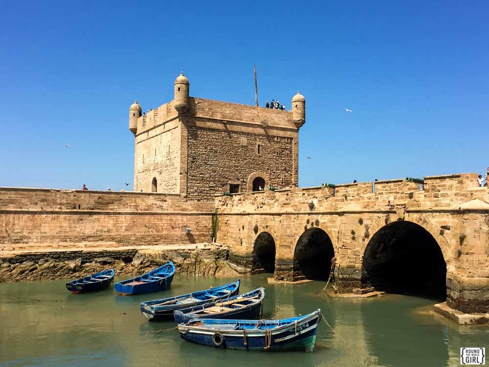 Essaouira boats | www.rtwgirl.com