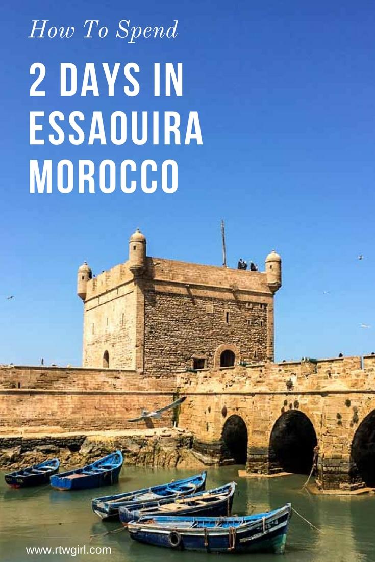 How To Spend 2 Days In Essaouira Morocco | www.rtwgirl.com