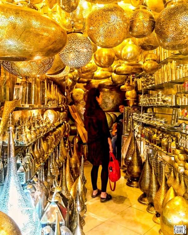 Marrakech shopping - Morocco Itinerary