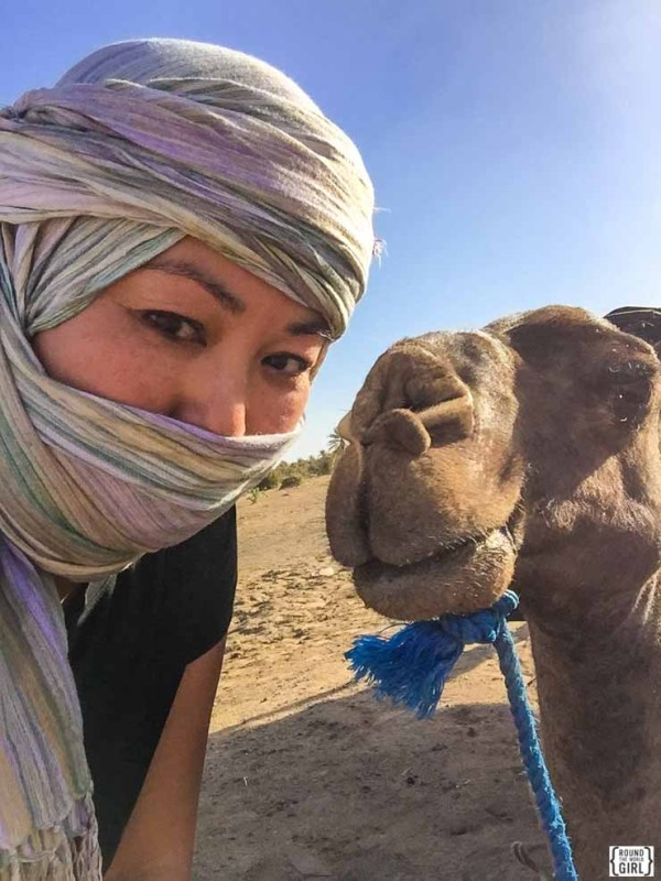 Sahara Desert overnight - Morocco Itinerary