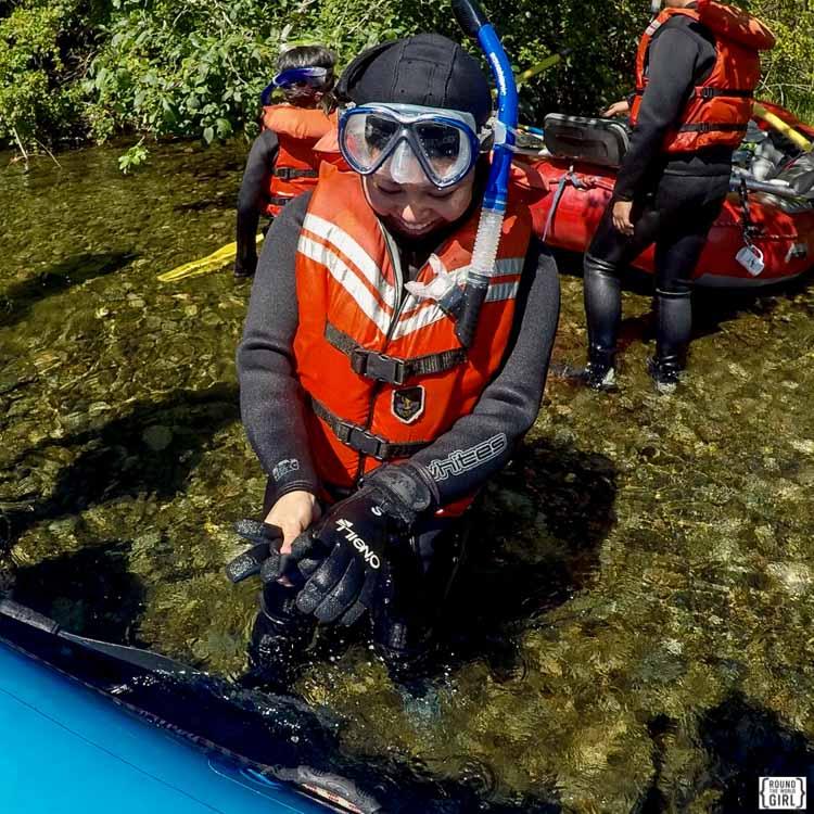 Snorkeling With Salmon - Destiny River Adventures