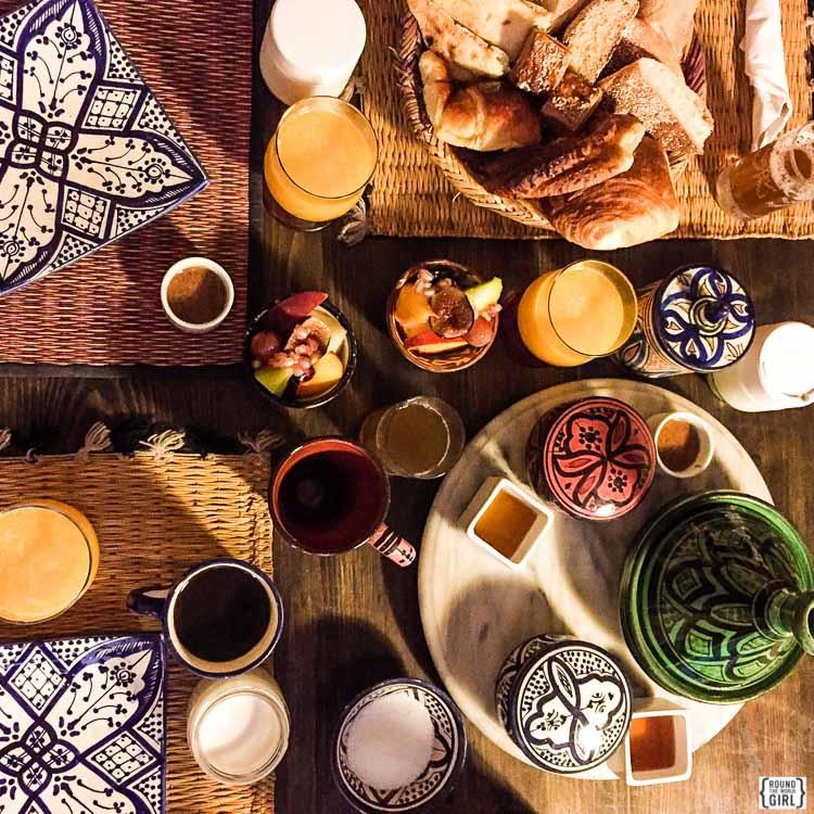 Breakfast in Essaouira | www.rtwgirl.com