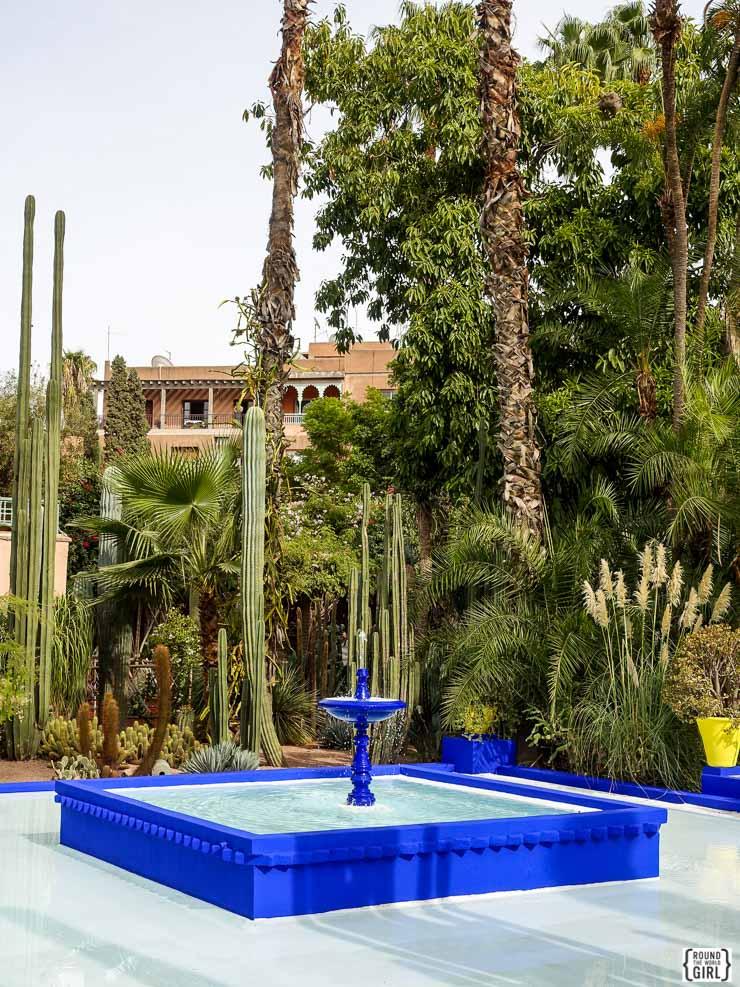 Jardin Majorelle Marrakech | www.rtwgirl.com