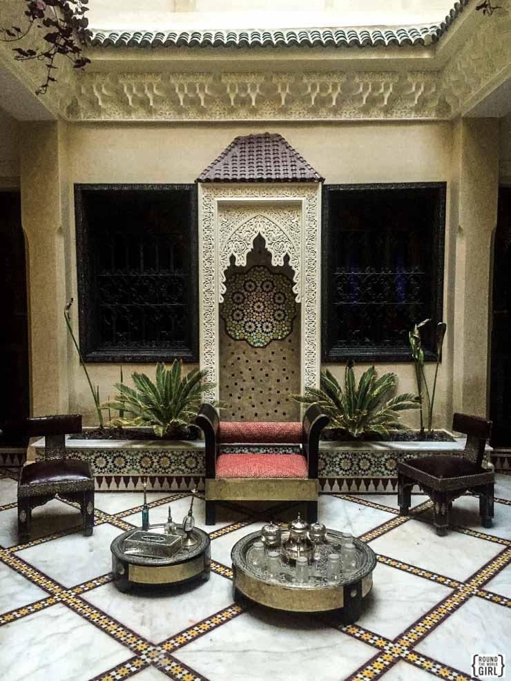 Riad Nesma - Marrakech | www.rtwgirl.com