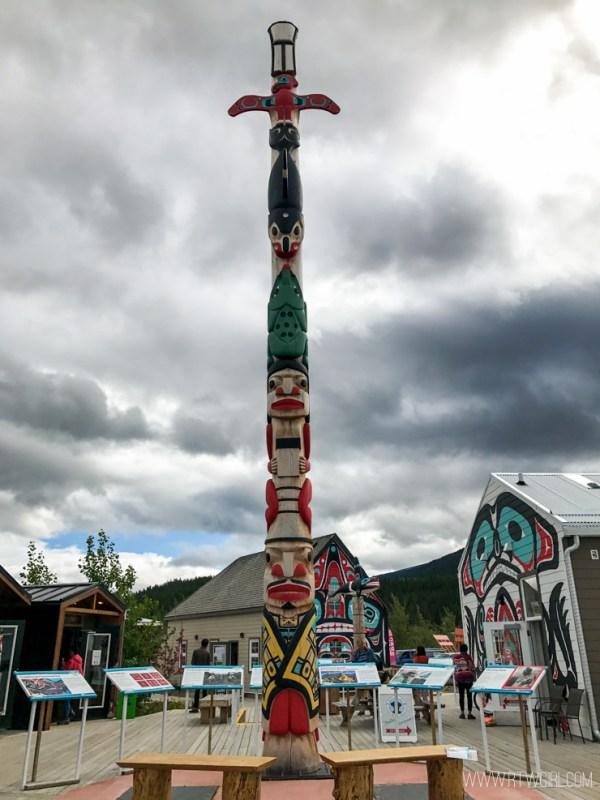 First Nations Totem Yukon