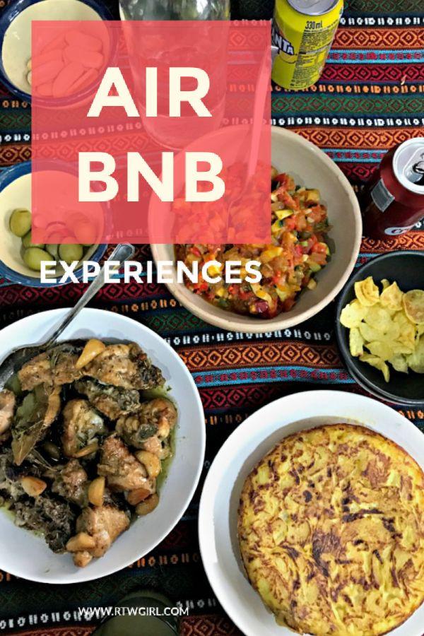 Air BNB Experiences