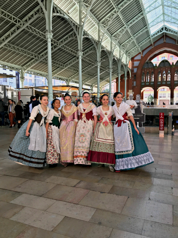 Las Fallas Celebration at Mercado Colon Valencia | www.rtwgirl.com