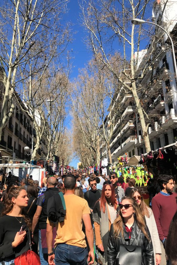 El Rastro Market - A Must During A Madrid Weekend