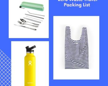 Zero Waste Travel Packing List | rtwgirl