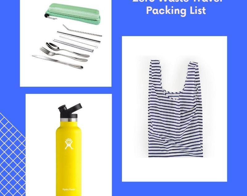 Zero Waste Travel Packing List | rtwgirl