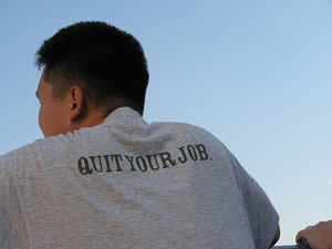 Quit Your Job - photo by pidulgi