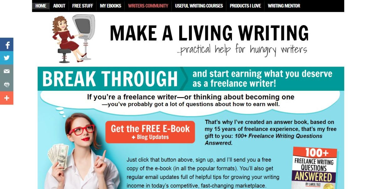 Make a Living Writing