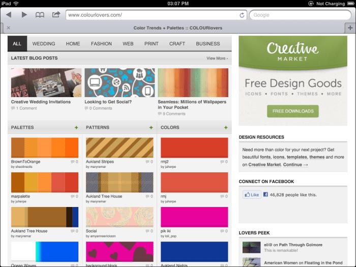 Bagaimana menggunakan warna yang efektif dalam web