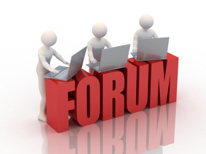 Promosi di Forum