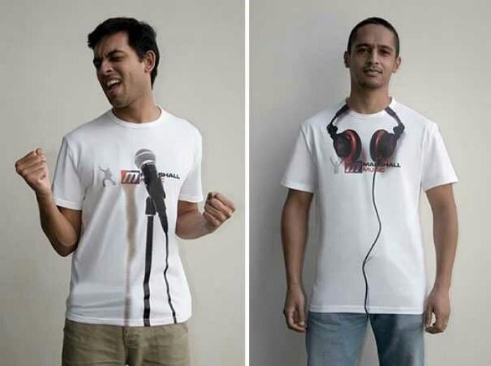 Marshall Music Experemential T-shirt