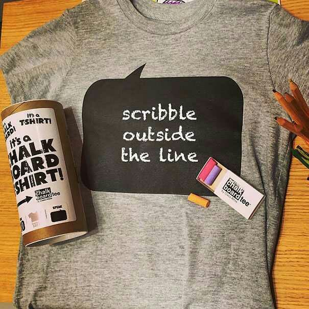 The Chalkboard T-shirt Design