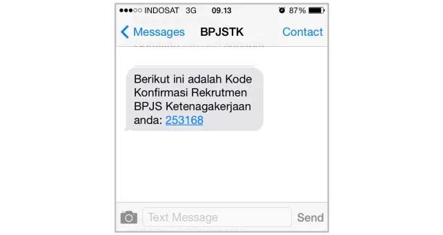 Rekrutmen BPJS Ketenagakerjaan - 2 Verifikasi Handphone 2