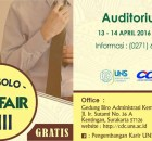 Job Fair UNS 2016