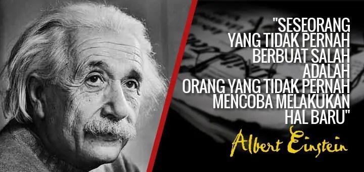 Kalimat-Kalimat Inspirasi dari Einstein