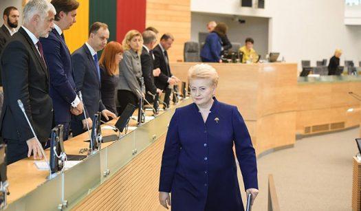 Даля Грибаускайте / Фото: sputniknews.lt