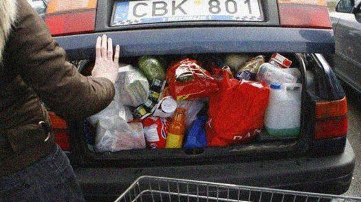Граждане Литвы «отмечают» возрождение государственности в польских Сувалках / Источник: Nedelia.lt
