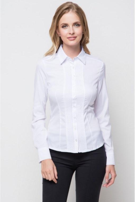 Блузка женская 1131L белый цвет