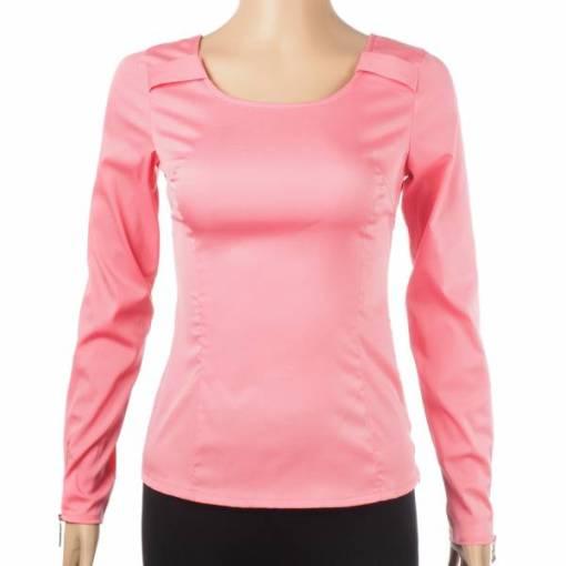 Блуза женская 1233 розовый цвет