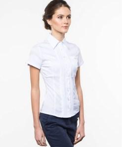 Блузка женская 1239-1 белый цвет