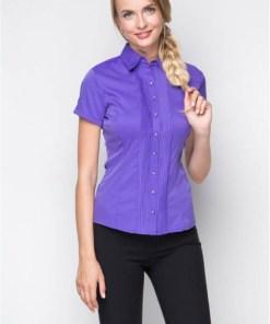 Блузка женская 1239-1 сиреневый цвет